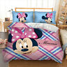 Duvet Cover Set for Comforter Twin Full Queen King Size Bedding Set Minnie Mouse