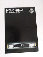 DEPLIANT POSTER LANCIA PRISMA 1300 , 1500 , 1600 ITALIANO