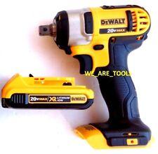 "Dewalt DCF880 20V Cordless 1/2"" Impact Wrench, (1) DCB203 Battery Detent Pin MAX"