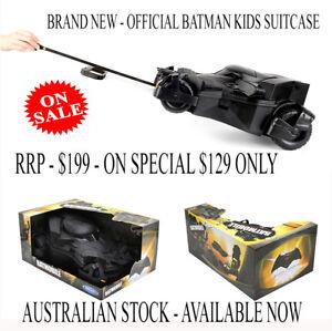 Official Batman Batmobile Kids Suitcase - Ridaz Travel Kids Case BRAND NEW