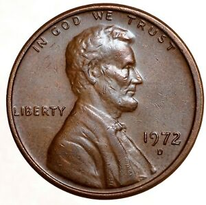 UNITED STATES 1 Cent 1972 D №5665