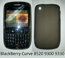 TPU gel silicone case cover black for BlackBerry Bold Curve 8520 8530