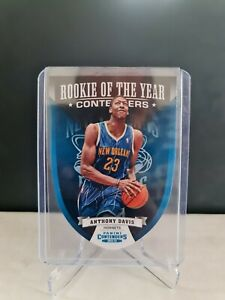 2012-13 Panini Contenders ROY Contenders #2 Anthony Davis Rookie RC
