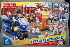IMAGINEXT 2011 CITY CHRISTMAS ADVENT CALENDAR SET  3 FIGURES & ACCESSORIES