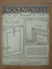 VINTAGE WOODWORKER MAGAZINE APRIL 1949 LINEN CUPBOARD - TABLE LAMP - SIDEBOARD