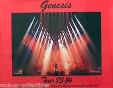 Genesis 1983 - 1984 Original Tour Promo Poster