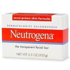 24 packs: Neutrogena Transparent Facial Bar Acne-Prone Skin Formula Soap 3.5 oz