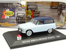 Nostalgie 1/43 - Simca Aronde P60 Ranch 1961
