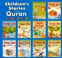 Children's Stories From the Quran-Islamic Colouring Books - A Set of 28 Books