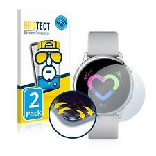 2x Full Cover Folie Samsung Galaxy Watch Active 3D Full Edge Screen Display