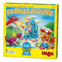 Haba 303402 Funkelschatz Kinderspiel d. Jahres 2018 Sammelspiel Brettspiel Spiel