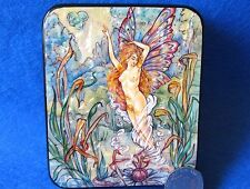 LACQUER SHELL Box Harold Gaze illustration Water Fairy BUTTERFLY Girl