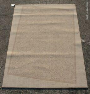 Masland Rug Melaka 9334 X Modern Contemporary Design 855 Heather Beige/Tan 5x7'