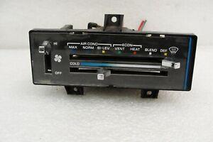Chevy Van dash CLIMATE CONTROL w AC heat temperature 91-95 OEM G10 G20 G30 GMC