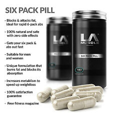 LA Muscle Six Pack Pill RRP: Fast six pack abs