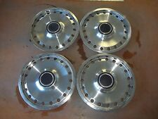"1979 79 Ford Pinto Bobcat Hubcap Rim Wheel Cover Hub Cap 13"" OEM USED 773 SET 4"