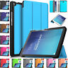 "Magnetic Leather Smart Stand Case Cover For Samsung Galaxy Tab E 9.6"" T560 T561"
