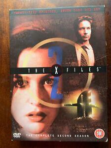 X Files Season 2 DVD Box Set Cult TV Sci-Fi Series with Gillian Anderson