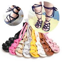 Baby Girl Gladiators Sandals Roman Sandles Toddler Kids Summer Boots Crib Shoes