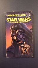 "George Lucas, ""Star Wars,"" 1976, Ballantine 26061-9, VG+, 1st, PBO"