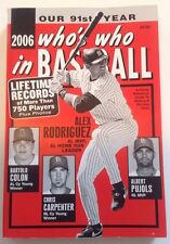 'Who's Who in Baseball' Magazine 2006