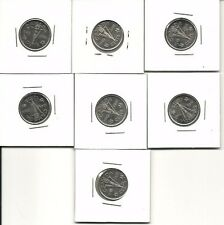 21 victory nickels 1945-2005 all in mint condition will grade very high