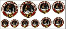 1:43 O SCALE INDIAN MOTORCYCLE SIGN BOXCAR GARAGE TRUCK DIORAMA DECALS