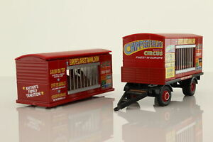 Corgi 97889; Animal Cages & Trailer; Chipperfields Circus; Good Unboxed