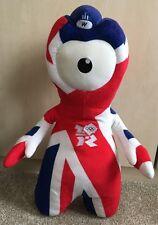 London 2012 Olympics Union Jack Flag Wenlock Mascot Soft Toy cuddly 45cm