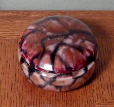 Czechoslovakia Coronet Ceramic Pottery Trinket Box