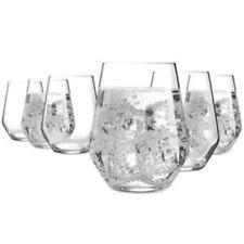 Luminarc 6pc Set Water VAL SURLOIRE Hi Ball Glass Tumblers 400ml 13.5oz FREE POS