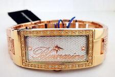 Orologio Donna Blumarine Acciaio Placcato Oro Rosa Gold Tone Cristalli Swarovsky