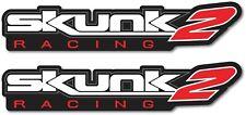 2X SKUNK2 DECAL STICKER US MADE TRUCK VEHICLE JDM SUSPENSION RACING CAR WINDOW