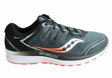 NEW SAUCONY MENS GUIDE ISO 2 COMFORTABLE 2E WIDE WIDTH ATHLETIC SHOES