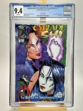 Cyblade/Shi: The Battle for Independents #1 (1995) CGC 9.4  White Pgs. Variant