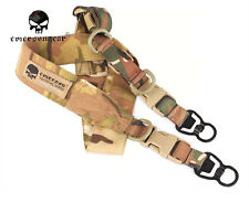 Emerson L.Q.E One+Two Point Slings Series with MASH hook Rifle Tactical Sling