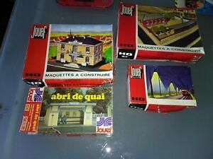Lot de 4 Maquettes a construire  JOUEF  pas complète  a voir