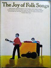 The Joy of Folk Songs, popular american folk songs, 1968