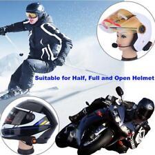 BT-S2 Bluetooth Motorcycle Helmet Intercom Headset MP3 Microphone FM Radio de