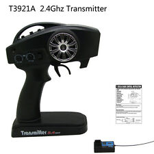 2.4GHz 2-Channel RC Radio Transmitter Receiver For Radio RC Car Boat #T3921A