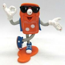 Domino's Pizza Man PVC Figure Figurine Toy Collectible Mascot 1993 OK Hand Sign