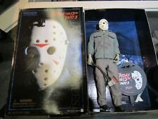 """SIDESHOW FRIDAY THE 13TH PART 3 JASON VOORHEES 12"""" FIGURE"""
