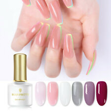 Opal Jelly Nail Gel Polish 6ml Semi-transparent White Pink Varnish Soak Off