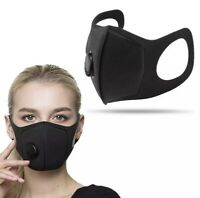 Adult Valve Face Mask Mouth Mask Washable Reusable Face Cover Melbourne Stock AU