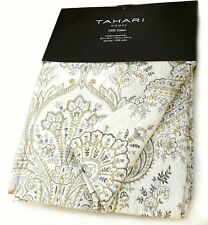Tahari Home Sienna Paisley Window Panels 52 by 96-inch Set of 2 Floral Lattice