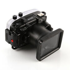 Meikon 40m 130ft Waterproof Housing Underwater Dving Case for Fujifilm Fuji X-a1