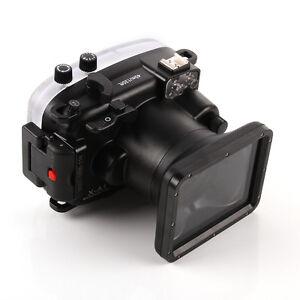 40m 130ft Waterproof Underwater Housing Case Fr Fujifilm Fuji X-A116-50mm Lens
