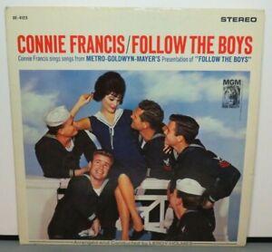 CONNIE FRANCIS FOLLOW THE BOYS (VG+) SE-4123 LP VINYL RECORD