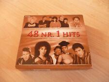 3 CD Box 48 Nr. 1 Hits: Johnny Logan Cheap Trick Martika Bros NKOTB Nena Markus