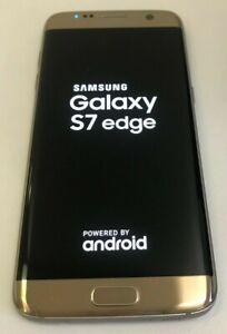 Unlocked Samsung Galaxy S7 Edge SM-G935 32GB Phone Gold (Read Description)